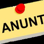ANUNŢ